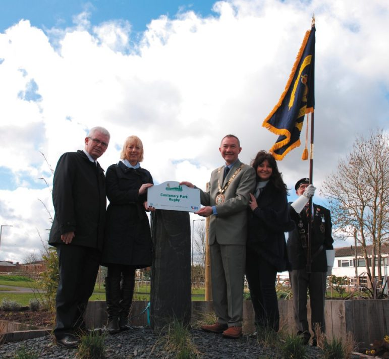 LOOK: New Park In Rugby Opens At Old Allotment Site