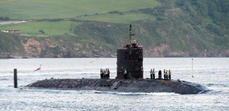 HMS Tireless arrives 'home' for her well earned retirement
