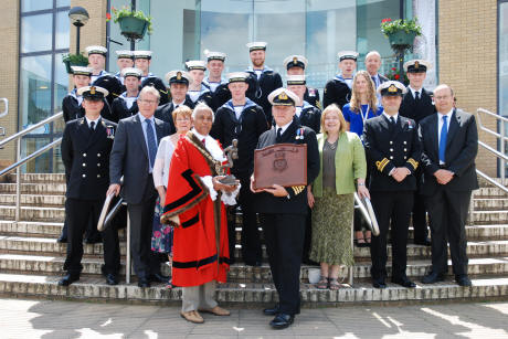 HMS Tireless crew make final visit to Rugby | The Rugby Observer
