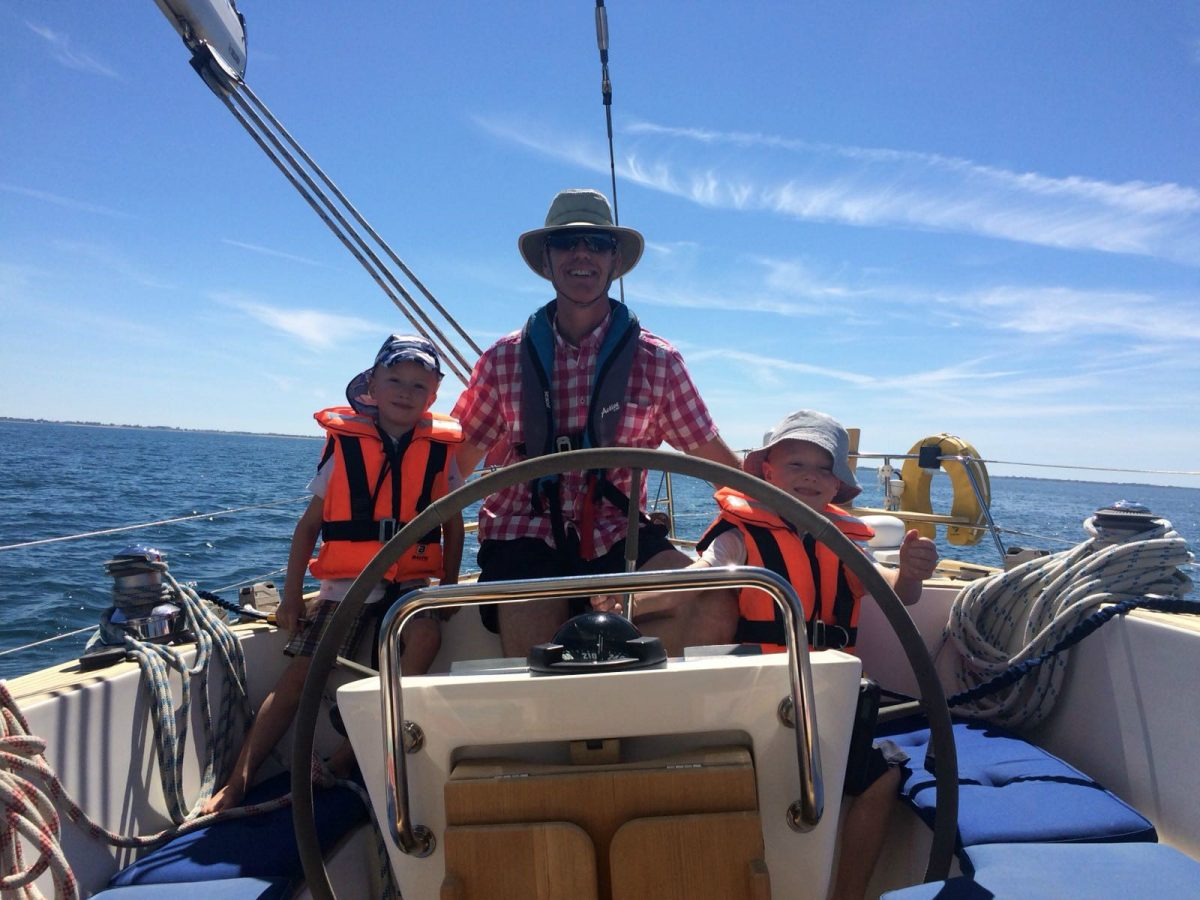 Vet prepares for life on the ocean wave as he sails across the world
