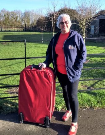 Charity worker to walk on water for Blind Veterans