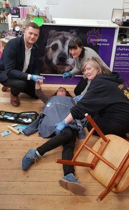 Life-saving skills taught to Rugby charities