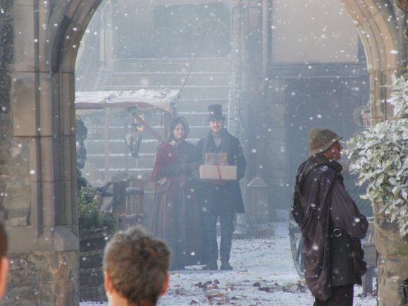 Flipboard: BBC's A Christmas Carol filming in Warwickshire as Guy Pearce, Stephen Graham and ...