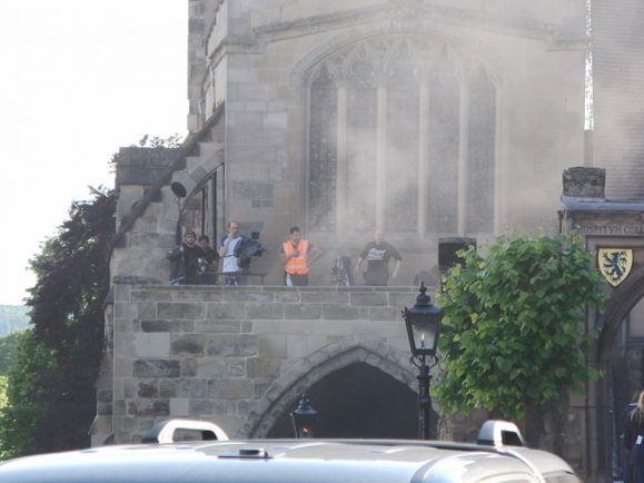 PICTURES - Tom Hardy's latest show currently being filmed in Warwick   The Rugby Observer