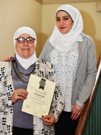 Final Syrian refugees welcomed to Stratford in resettlement scheme