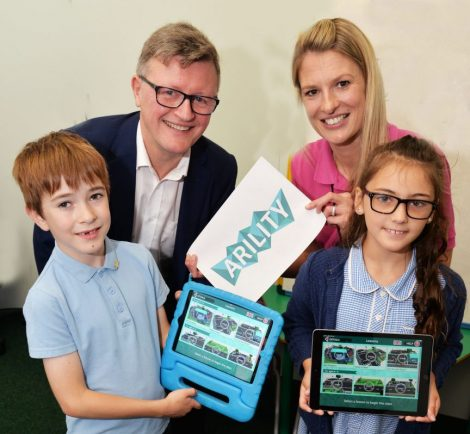 Virtual reality helps Warwickshire children stay safe on roads