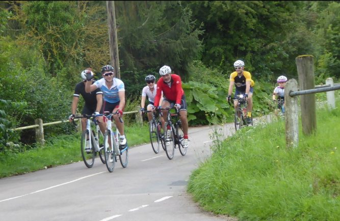 Lutterworth Big Bike Ride raises thousands for charity