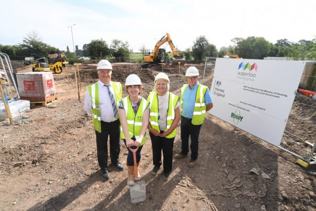 New affordable homes going up in Ryton-on-Dunsmore