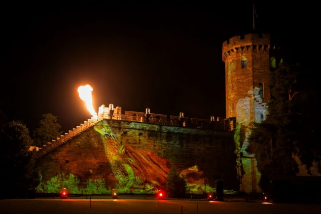 Dragon Slayer show stuns despite snuffed-out pyrotechnics