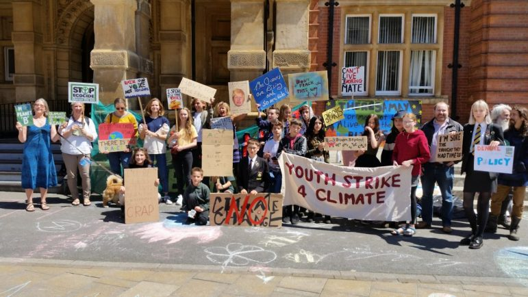 Protesters to gather at Town Hall for climate strike