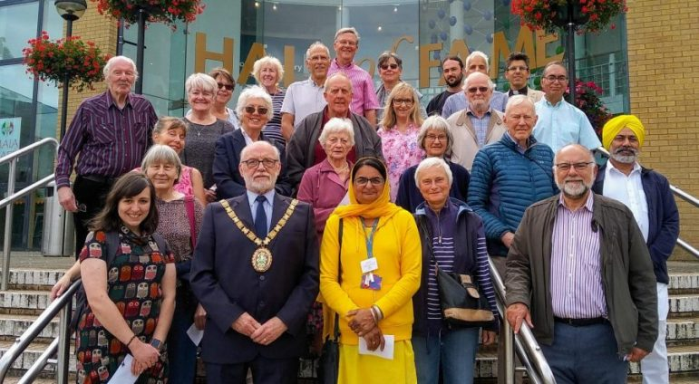Faiths come together for annual Peace Walk