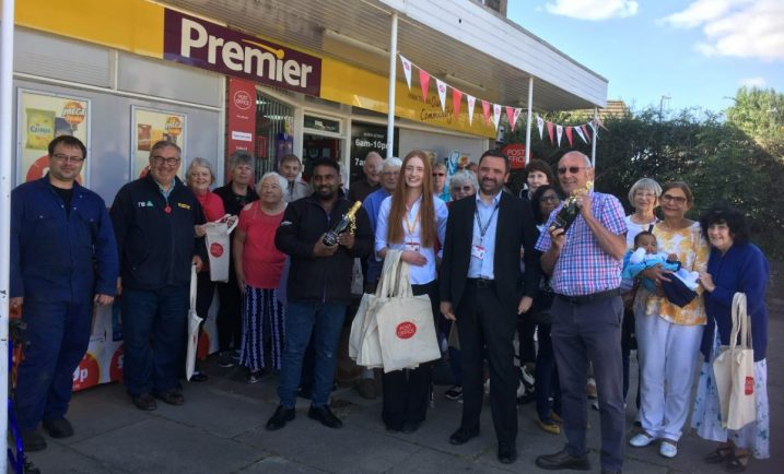 Neighbourhood celebrates return of Post Office after three-year absence
