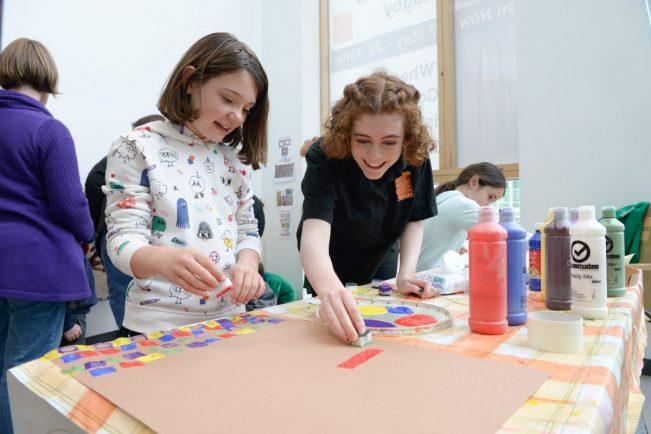 Art activity day promises messy fun