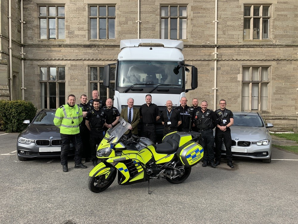 Warwickshire Police unit nominated as 'HGV Heroes'