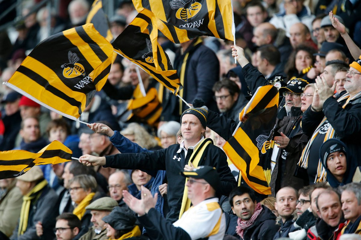 Wasps support groundbreaking TV deal to show all remaining 2019/20 games