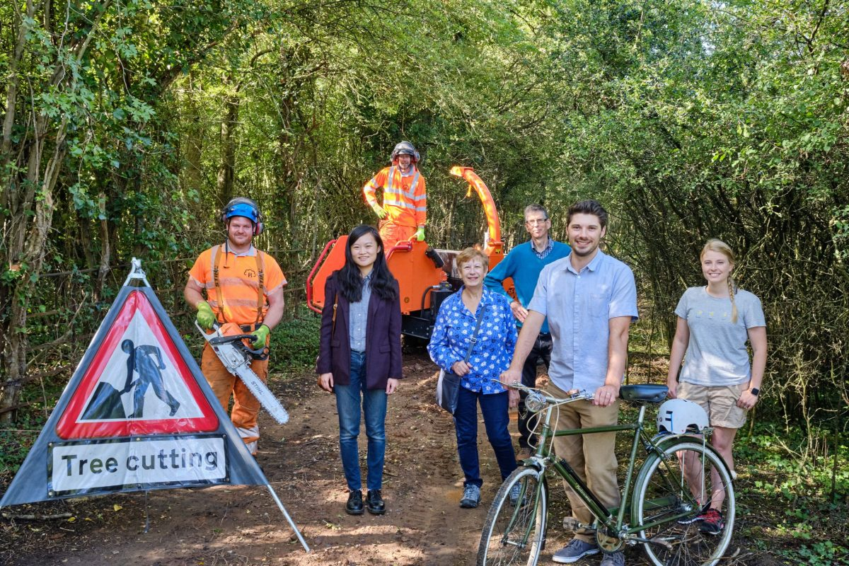 Upgrade to Warwickshire cycle network takes shape